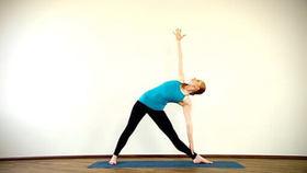 Yoga Video Clip: Trikonasana (Dreieckshaltung)