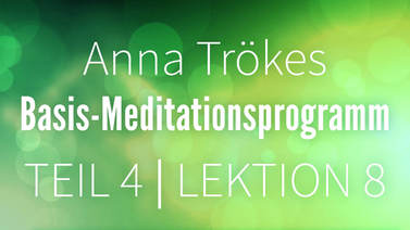 Yoga Video Teil 4 Lektion 8 Basismeditation