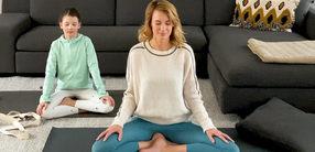 Schlaf gut: Kinder-Yoga für große Kinder