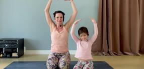Der Hase im Mond: Kinder-Yoga für kleinere Kinder