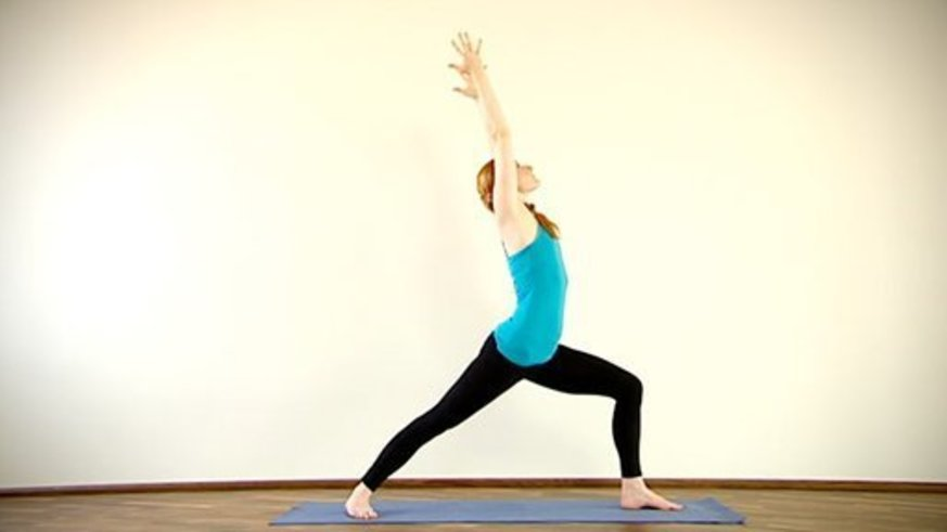 Yoga Video Clip: Virabhadrasana I (Krieger 1)