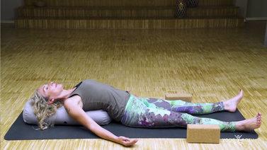 Yoga Video Yin Yoga bei Erschöpfung: Energie tanken