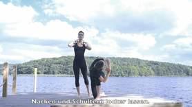 Yoga Video Power Yoga für Hörgeschädigte (für Anfänger, 25 Minuten)