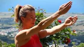 Yoga Video Arme, Bauch und Seelenfrieden