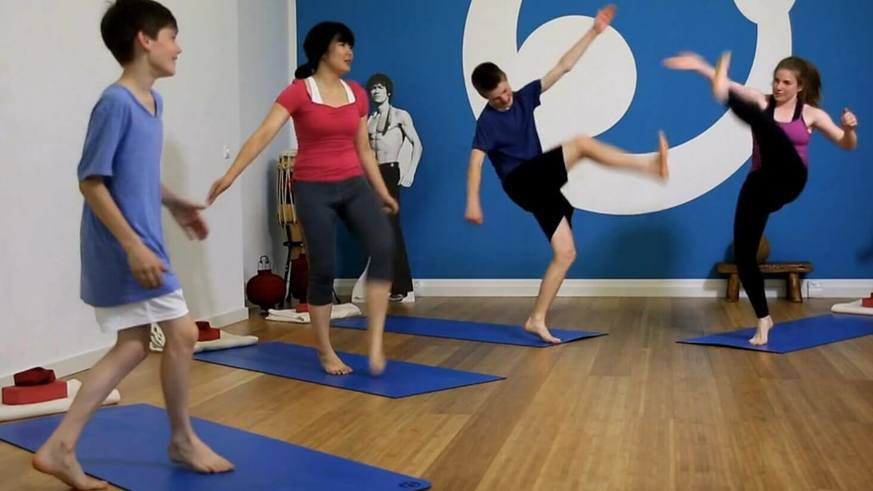 Yoga Video Teen Yoga - Kick it: Wenn du wütend bist