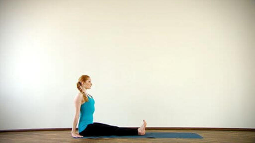 Yoga Video Clip: Dandasana (Stockhaltung)