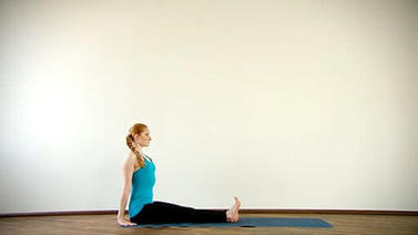 Yoga Video Clip: Dandasana (Stockhaltung)