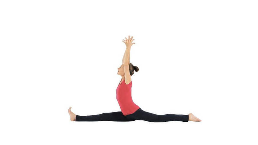 Yoga Video hanumanasana (Spagat)