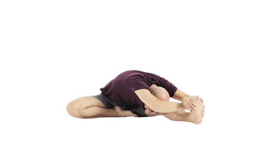 Yoga Video janu sirsasana (Kopf zum Knie Stellung)