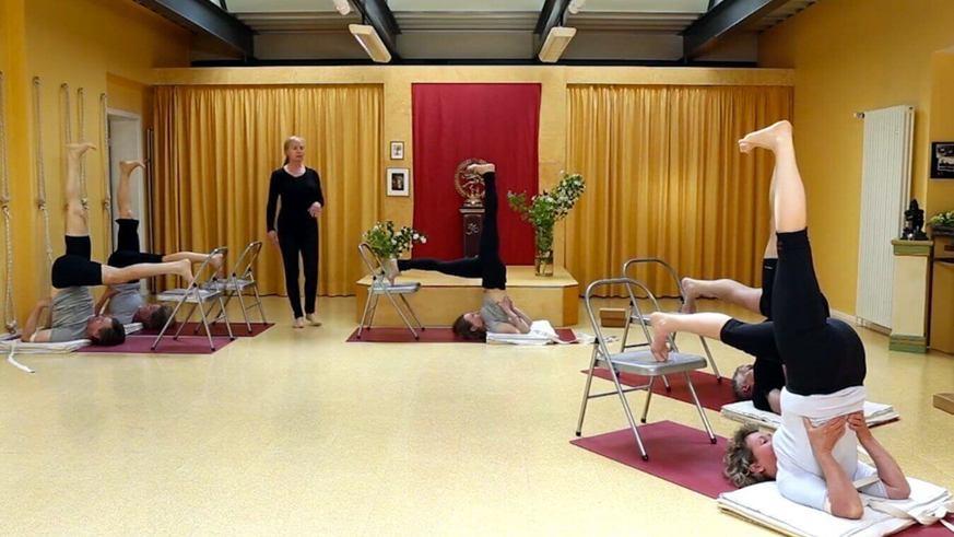 Yoga Video Iyengar Yoga Aufbaukurs Teil 1: Die Sinne schärfen