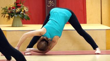 Yoga Video Iyengar Yoga Aufbaukurs Teil 2: Von der Erdung zur Ausdehnung