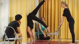 Yoga Video Iyengar Aufbaukurs Teil 3: Von der Verwurzelung zur Umkehr