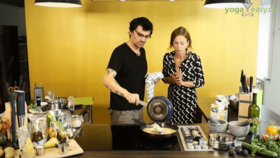 Yoga Video Mehl and More: Das fruchtige Cous-Cous-Frühstück