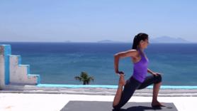 Yoga Video Sich öffnen um zu empfangen