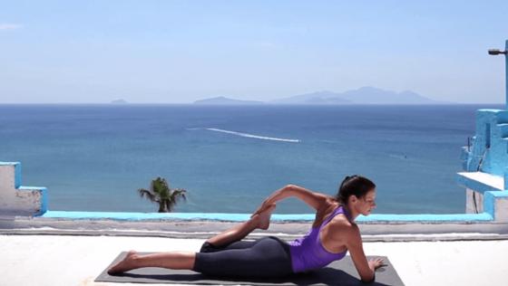 Yoga Video Yoga-Kurzprogramm für vor oder nach dem Büro