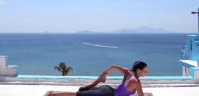 Yoga-Kurzprogramm für vor oder nach dem Büro