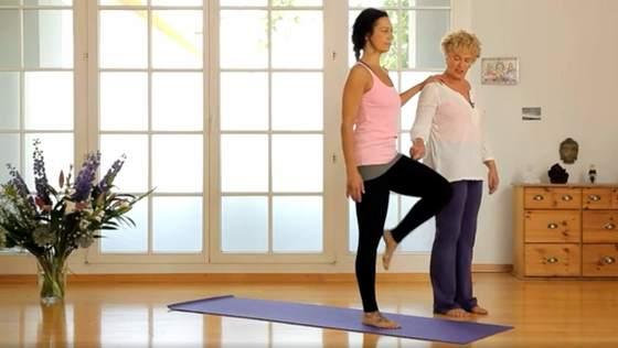 Yoga Video Yoga für die Knie