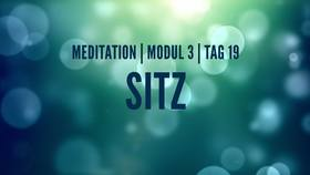 Yoga Video Modul 3, Tag 19: Meditation mit Fokus Sitz