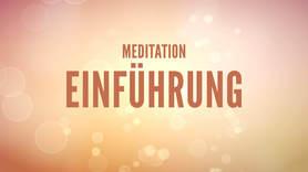 Yoga Video Meditation Einführung