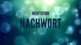 Yoga Video Nachwort zur Meditation