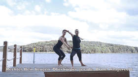 Yoga Video Power Yoga für Hörgeschädigte: Erklärungsteil für die 47-minütige Sequenz