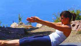 Yoga Video Pilates für Yogis - eine starke Mitte (besonders geeignet für die Morgenpraxis)
