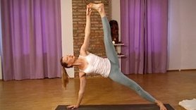 Yoga Video Intensive Vinyasa-Stunde mit Handstand: 113 Minuten