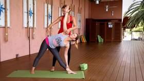 Yoga Video Tutorial: Asana Dreieck (Trikonasana)
