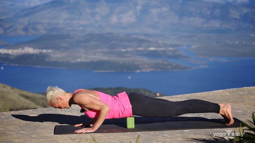 Yoga Video Tutorial: Asana Chaturanga (Bretthaltung)
