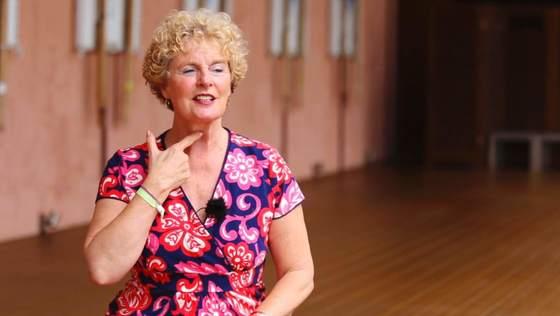 Yoga Video Anna Trökes im Kurzinterview zum Thema Ujjayi Atmung
