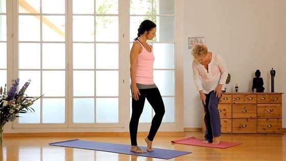 Yoga Video Yoga für die Fußgelenke