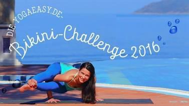 Yoga Video Bikini Challenge - Das Yogaprogramm für deine Wohlfühlfigur