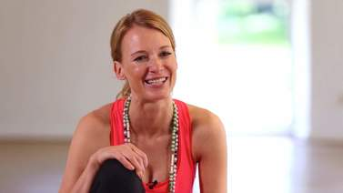 Yoga Video Annika Isterling im Interview über Familie, Yoga und Core