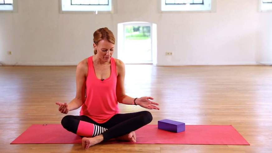Yoga Video Tutorial: Meditationssitz