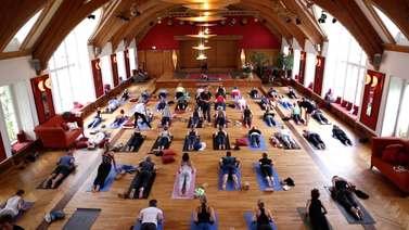 Yoga Video Impressionen Yoga Summit 2016 auf Schloss Elmau