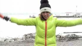 Yoga Video Kleine Yogapause zum Abnehmen beim spazieren gehen