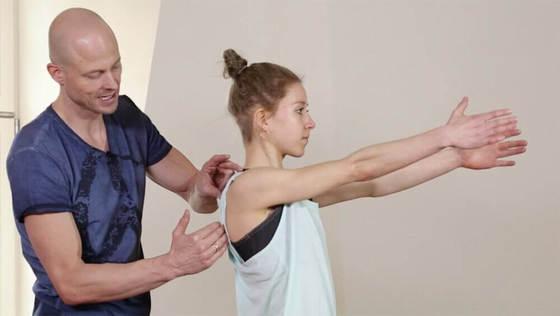 Yoga Video Starker, entspannter Nacken