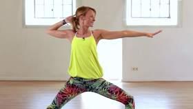 Yoga Video Stress Release für einen entspannten Schulter-/Nackenbereich