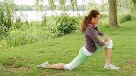 Yoga Video Kleine Yogapause nach dem Joggen