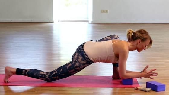 Yoga Video Gute-Nacht-Yogasequenz
