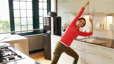 Yoga Video Kleine Yogapause gegen Heißhunger