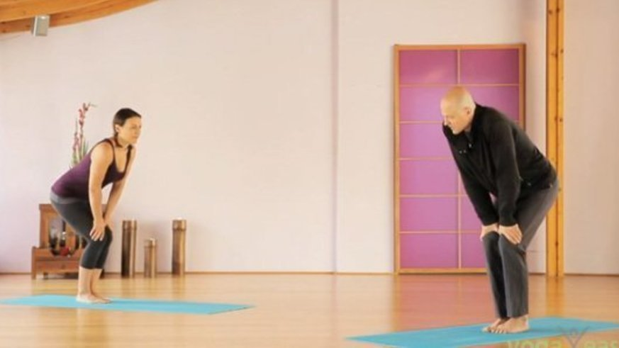 Yoga Video Yoga für gesunde Knie: Tagesprogramm