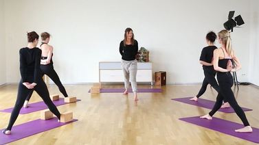 Yoga Video ChiYoga Sonnengruß-Sequenz für den Winter