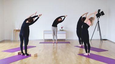 Yoga Video ChiYoga Sonnengruß-Sequenz für den Übergang Winter/Frühling