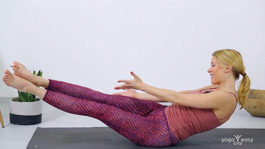 Yoga Video Tutorial: 4 Varianten für Navasana (die Boothaltung)