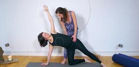 Mamasté Flow für Stabilität im Rücken und Becken
