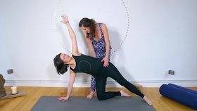 Yoga Video Mamasté Flow für Stabilität im Rücken und Becken