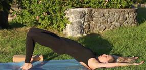 Schwangerschaftsyoga für starke Beine