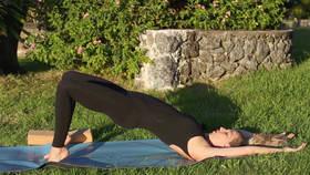 Yoga Video Schwangerschaftsyoga für starke Beine