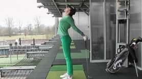 Yoga Video Kleine Yogapause beim Golfen